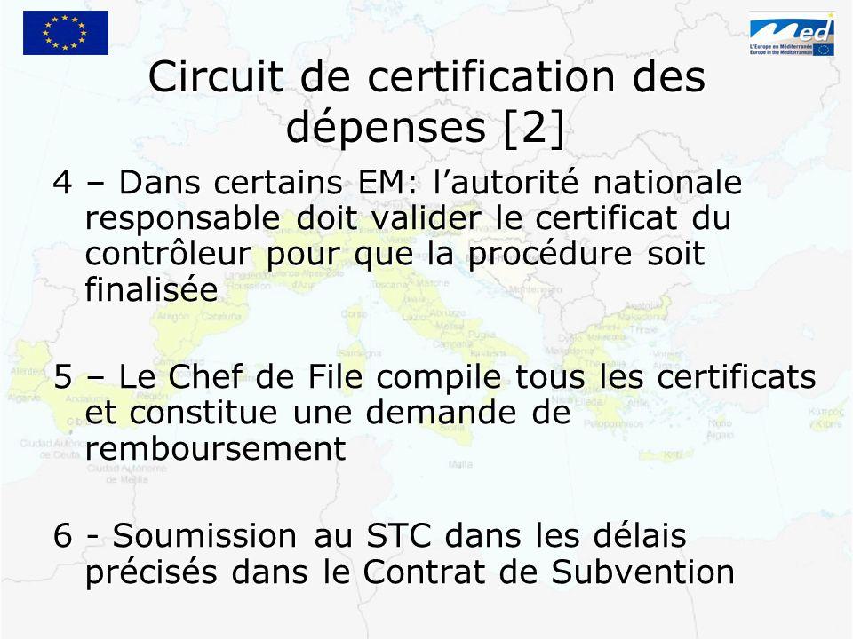 Circuit de certification des dépenses [2]